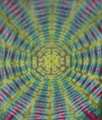 Hand-dyed tapestry