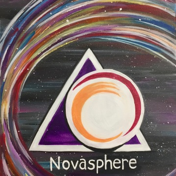 "Novasphere in Twinsburg, Acrylic Painting 16x20"" 2017"