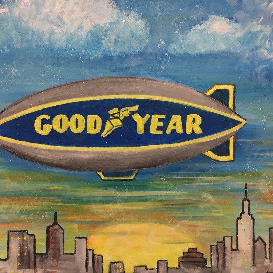 "Goodyear Corporation, Acrylic 16x20"" 2018"