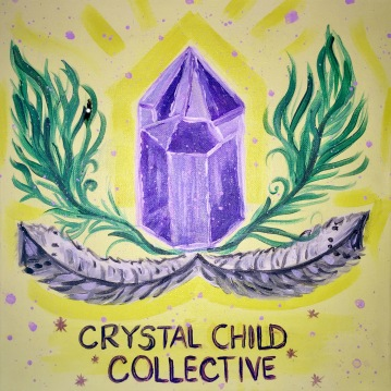 "Crystal Child Collective in Mantua 12x12"" 2017"